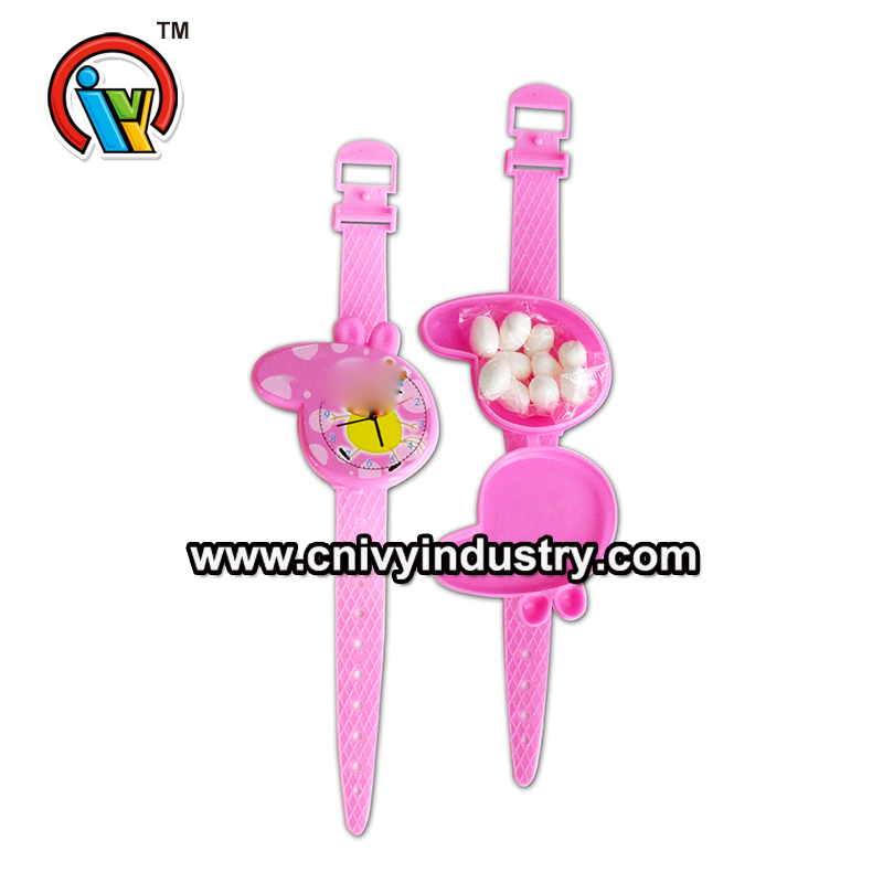 Piggy watch toy candy