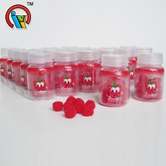 Fruits Jelly Soft Gummy Candy in bottle
