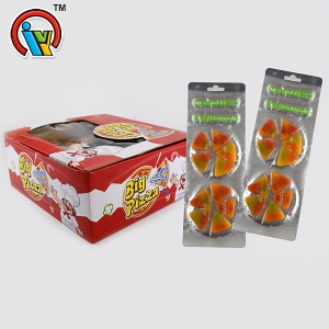Fruit Flavor Pizza Gummy Candy Soft Candy
