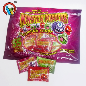 Monster magic popping sweet candy fruit flavors