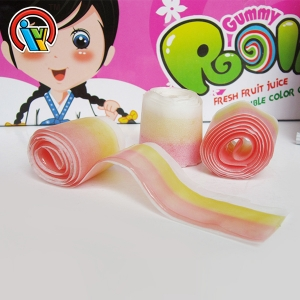 Top selling sweet gummy roll candy