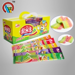 sour gummy belt candy soft candy