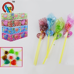 lollipop heart shape candy