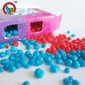 Colorful fruity crystal candy sugar ball