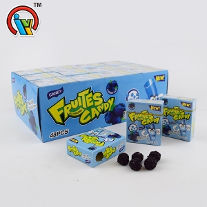 Smoking box fruit flavor soft candy