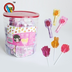 Rock-Paper-Scissors Lollipop Hard Candy