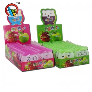 Funny opening bottle fruity pressed candy tablet candy