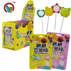 Different design sweet lollipop candy
