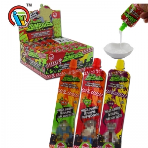 Fruity flavor toothpaste liquid candy jam candy supplier