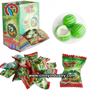 Cheap price bubble gum with sour powder candy