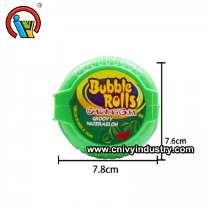 Fruity Big Size Chewing Roll Bubble Gum