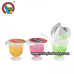 IVY Factory Price Fruity Flavor Jam Liquid Candy In Cup