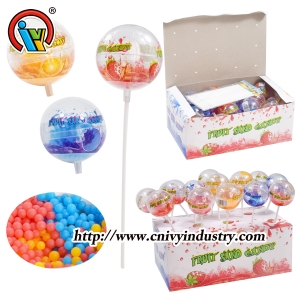 Ball Lollipop Shaking Toy Candy