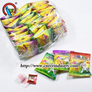 Gummy Roll Candy With Popping Candy