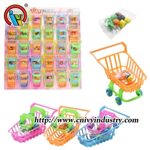Shopping Cart Toy Candy
