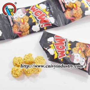 Crunchy Dry Instant Noodle Snack